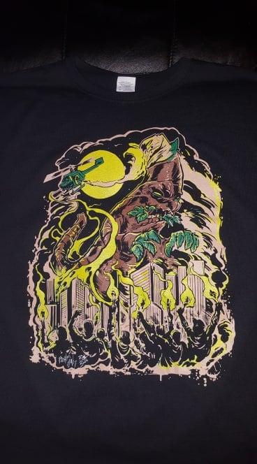 Image of 2 MANY BLUNTS CLOTHING BLUNTZILLA T SHIRT