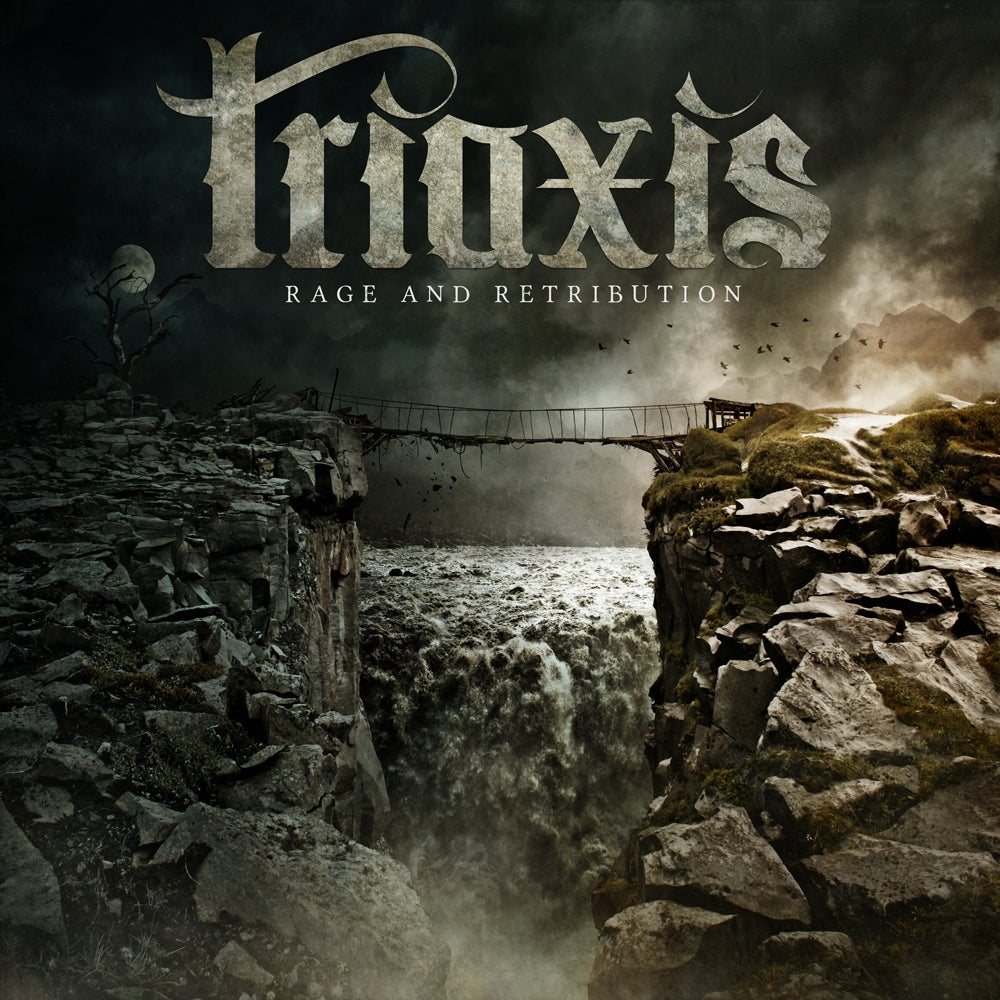 Image of Triaxis Rage And Retribution CD *Rare*
