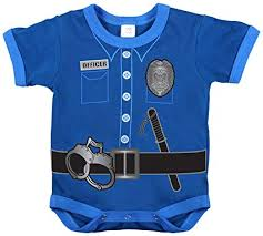 "Image of Infant ""Policeman"" One-piece"