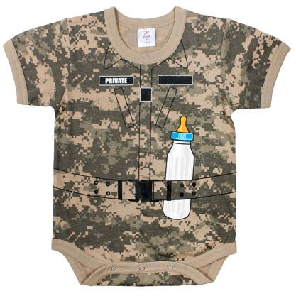 "Image of Infant ""Private"" One-piece"