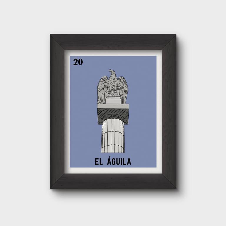Image of El Águila Print