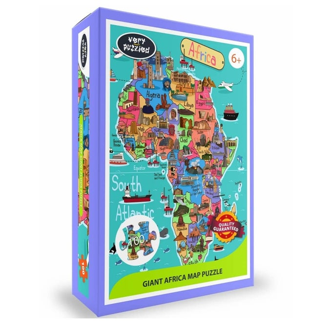 Image of Africa Map Puzzle