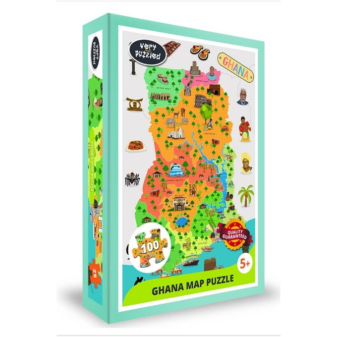 Image of Ghana Map Puzzle
