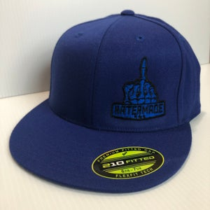 Image of Solid Fitted - Blue or Dark Gray