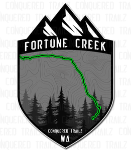 """Image of """"Fortune Creek"""" Trail Badge"""