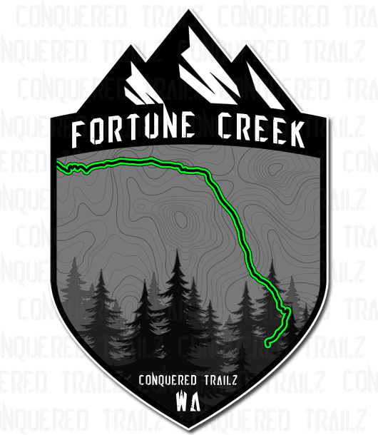"Image of ""Fortune Creek"" Trail Badge"