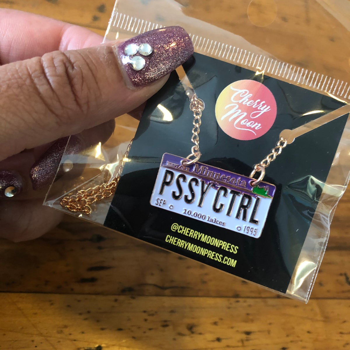 Image of PSSY CTRL necklace