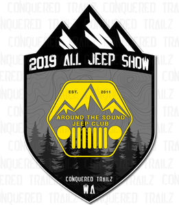 Image of Around the Sound Jeep Club - All Jeep Show 2019