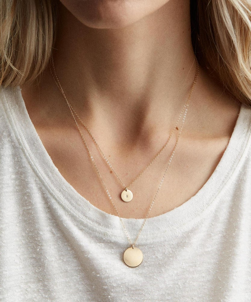 Image of ONCE IN A BLUE MOON NECKLACE