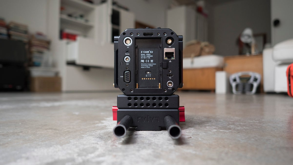 Image of STOMP LWS modular hybrid plate system for E2 camera
