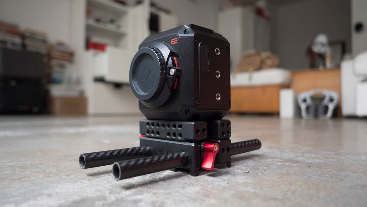Image of STOMP LWS modular hybrid plate system for E2 camera