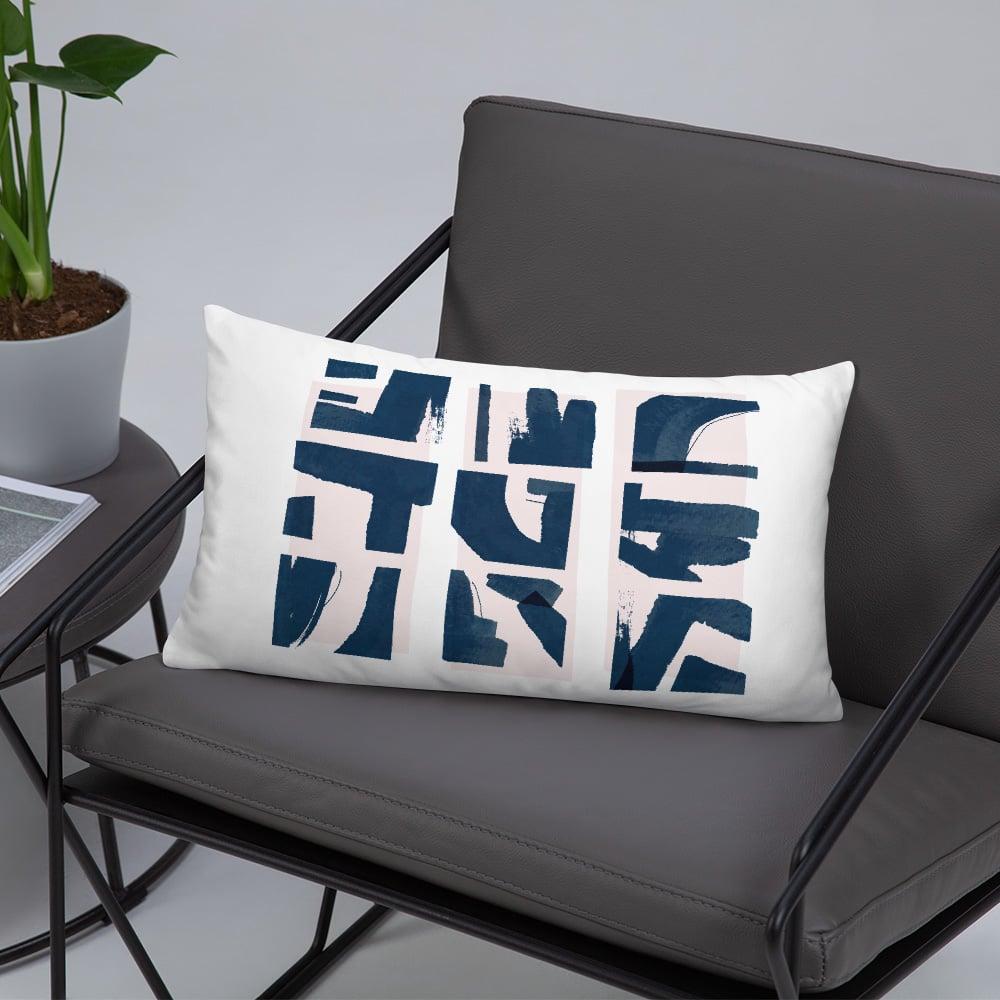 Image of Fractured Rectangular Throw Pillow