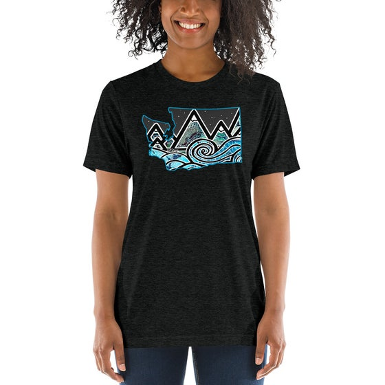 Image of Womens/Unisex Tidal Wave Front Graphic