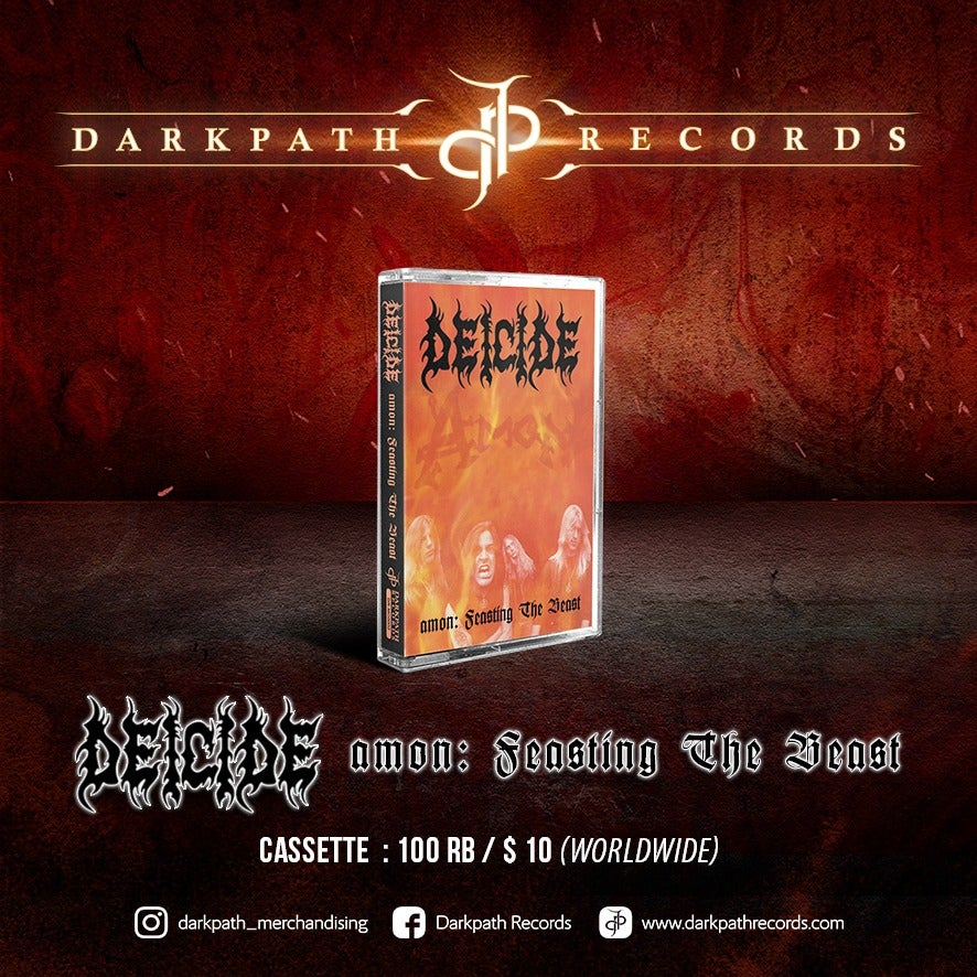 Image of DEICIDE - AMON : Feasting The Beast Tape