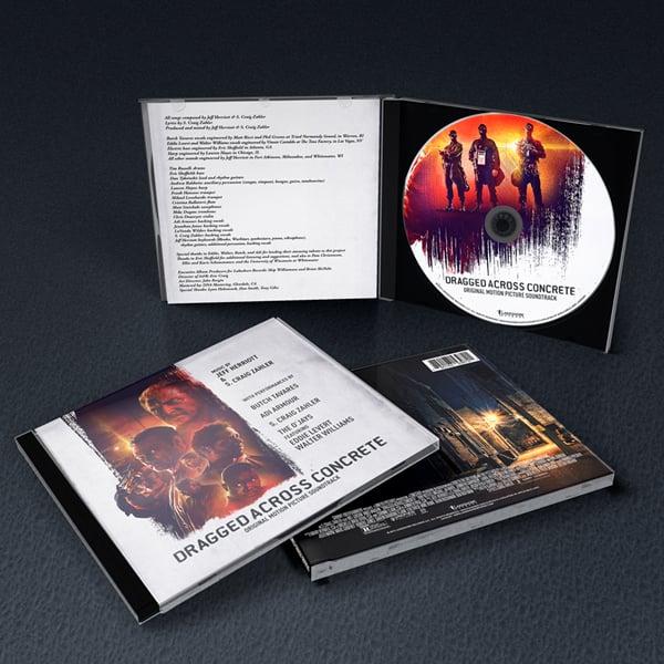 Image of Dragged Across Concrete (Original Motion Picture Soundtrack) - Jeff Herriott & S. Craig Zahler - CD