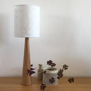 Image of Solid Oak Lamp Bases