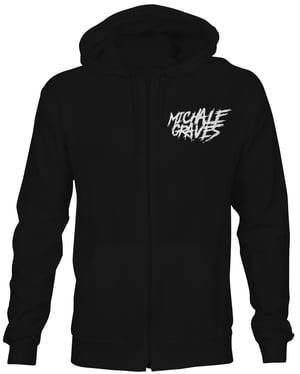 Image of Michale Graves Tarot card hoodie