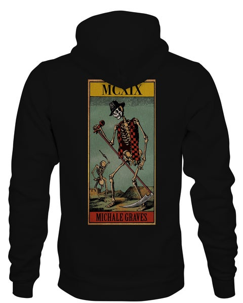 Image of Michale Graves Tarot card hoodie
