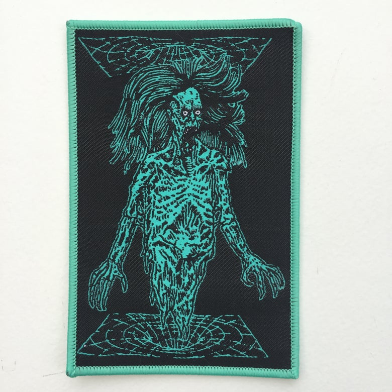 Image of TRANSDIMENSIONAL VORTEX GHOUL WOVEN PATCH