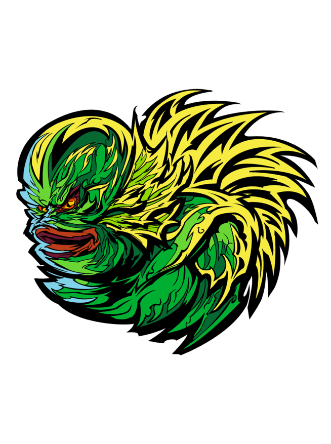 Image of The Creature Lives by Fracturize (Sticker Only)