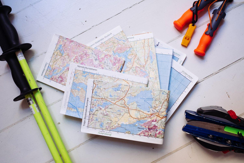 Image of Kartset om 8 kartor