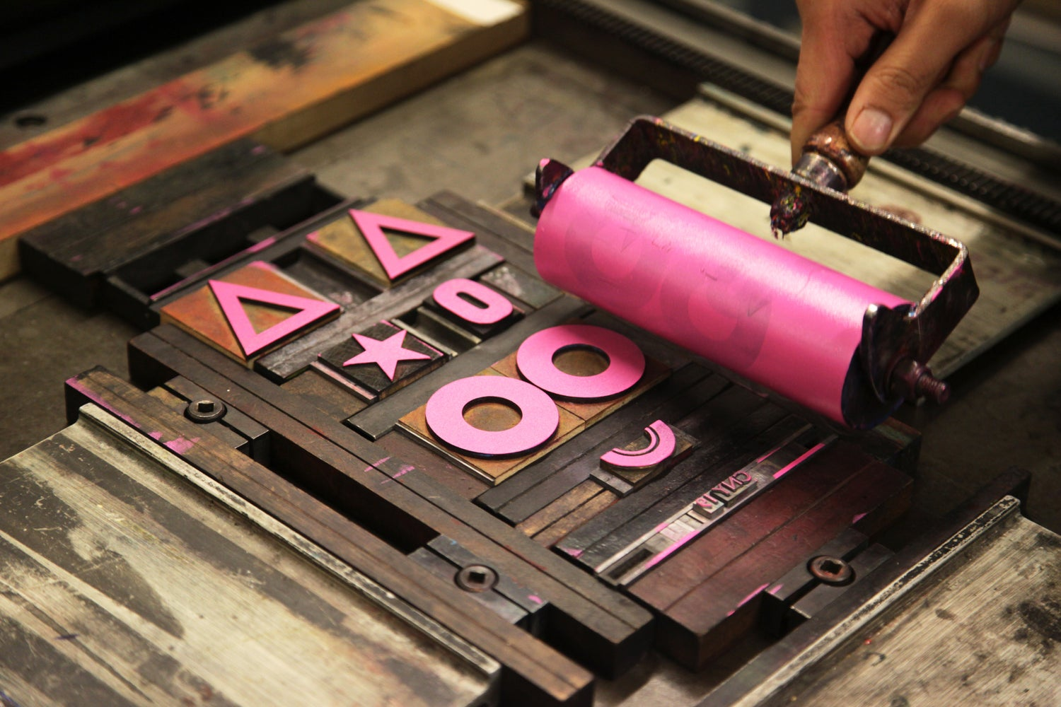 Image of One Day Letterpress Workshop Spring & Summer 2019
