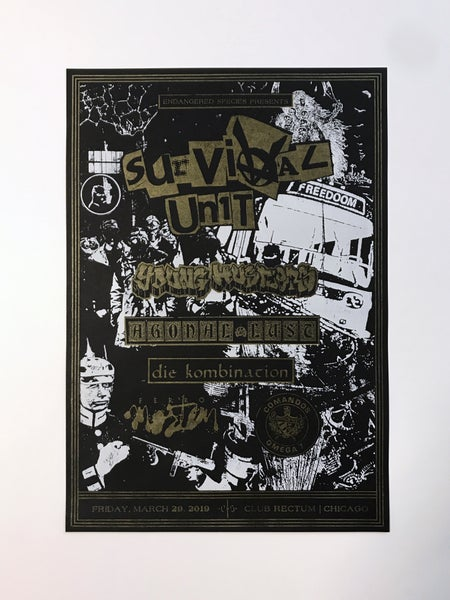 Image of Survival Unit | Club Rectum Poster