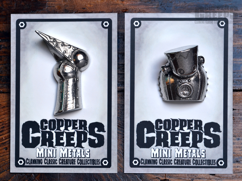 Image of Copper Creeps MINI METAL Pins -FREE SHIPPING-
