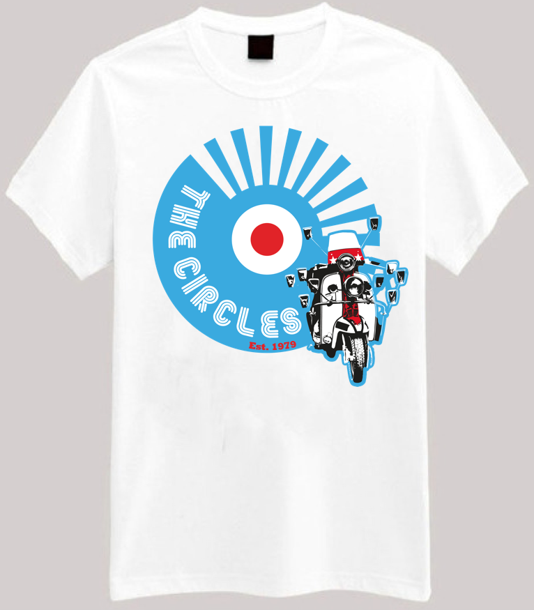 Image of The Circles EP T-Shirt (White)