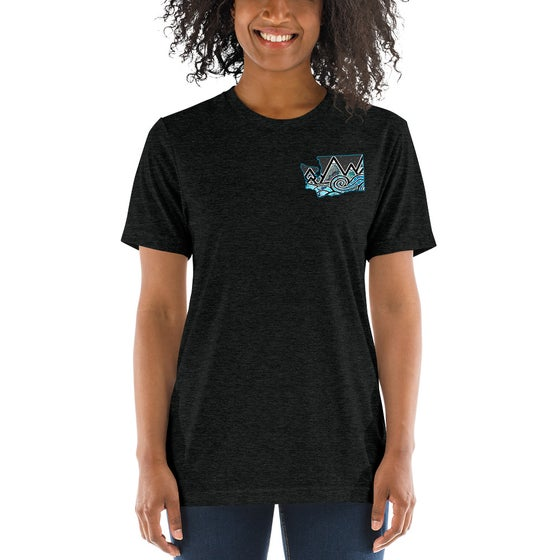 Image of Womens/Unisex WA Tidal Wave T-Shirt