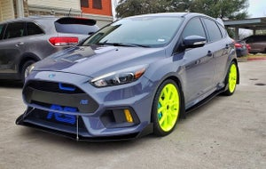 "Image of 2016-2017 Ford Focus RS ""V2"" front splitter"
