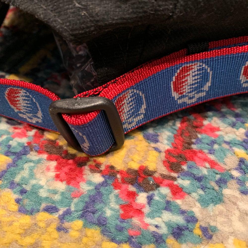 Image of Grateful Dead 5 Panel Hat 1990's Bison Belts!