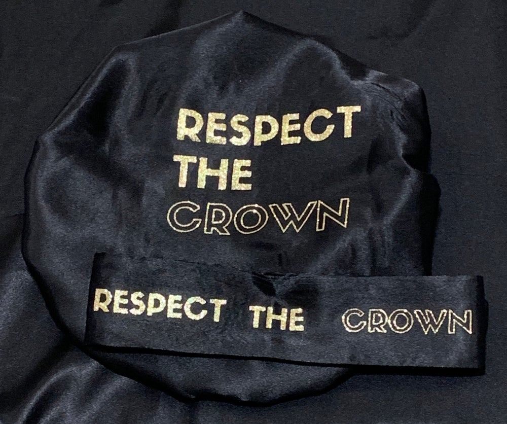 "Image of ""Respect The Crown"" Black"