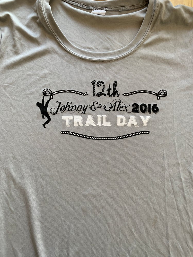 Image of M&W's 2016 Johnny & Alex Trail Day T-Shirt