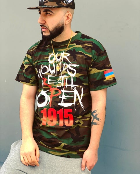 Image of Open Wounds 1915 - Classic Tee CAMO