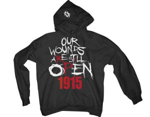 Image of Open Wounds 1915 - Classic Hoodie