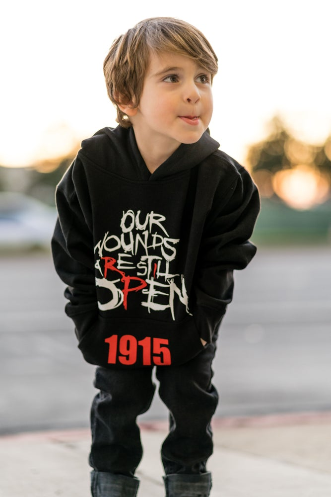 Image of Open Wounds 1915 - Kids Hoodie