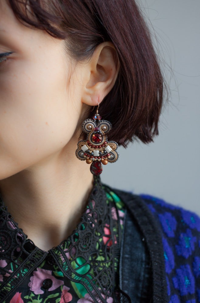 Image of Steady Earrings - Rubis pour le thé