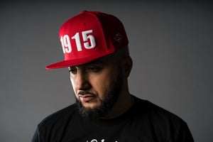 Image of Open Wounds 1915 - Red w/ White Snapback