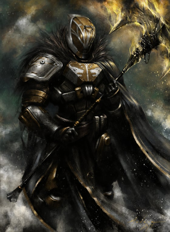 Image of Lord Saladin (Color)