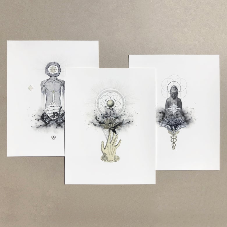 Image of Set of 3 | Limited Edition Giclée Prints