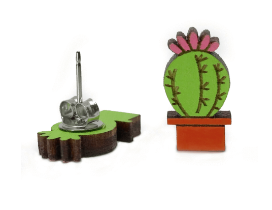 Image of Cactus Earrings