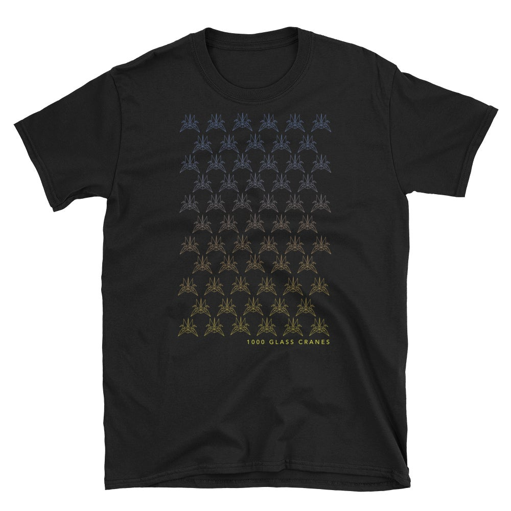 Image of 2019 Glass Crane T-shirt (black)