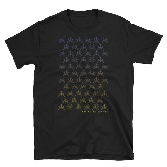 Image of 2019 Glass Crane T-shirt (black)