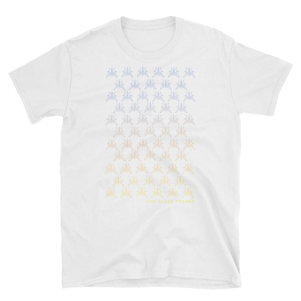 Image of 2019 Glass Crane T-shirt (white)