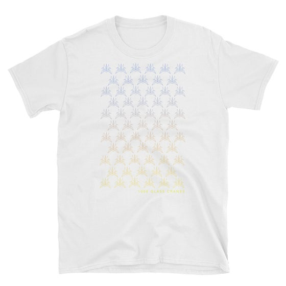 Image of 2019 Glass Crane T-shirt (white)