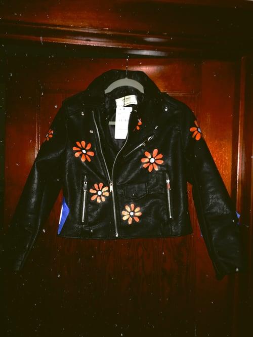 Image of Painted Daisy- Jacket
