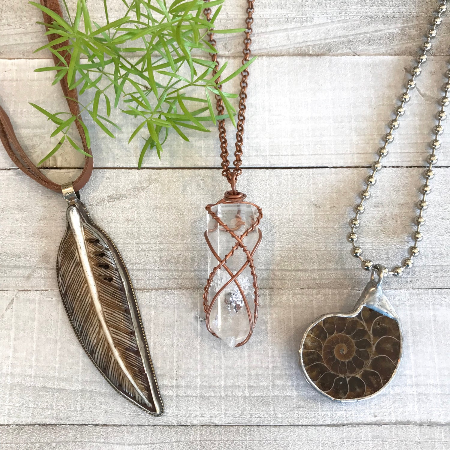 Organic Necklaces