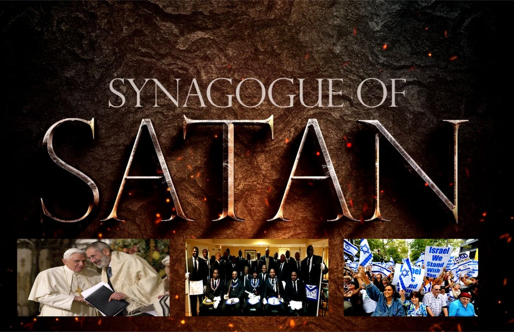 Image of The tales of the Synagogue of Satan DVD