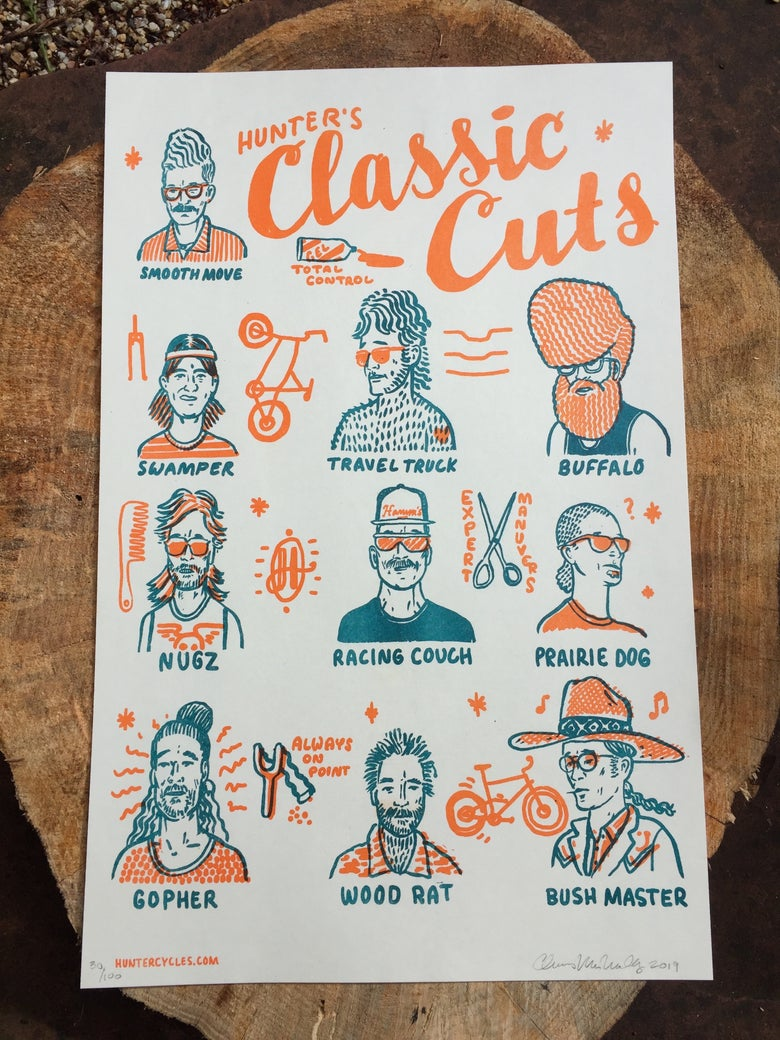 Image of Hunter's Classic Cuts Poster